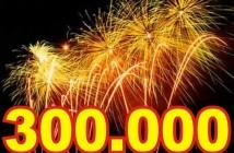 300.000 visitas